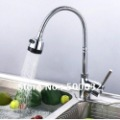 spray with pull out kitchen faucet brass spring sink hot&cold tap chrome finish centerset brand new