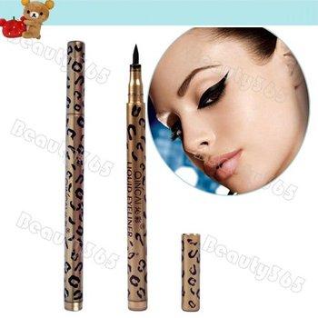 Leopard Design Waterproof Liquid Eyeliner Pencil Eye Liner Eye Liner Pen New 6025