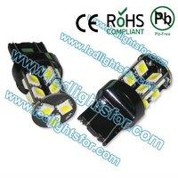 20pcs/lot high quality  19 SMD 5050,t20 canbus bulbs,w21/5w  car led,canbus 7443 led lamp