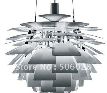 50CM White Color Hot Selling Louis Poulsen PH Artichoke Lamp Denmark Modern Suspension Pendant lamp ceiling residential lamp
