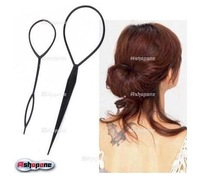 New 70 set/lot  Topsy Tail Hair Braid Ponytail Hair Maker Styling Tool Free Shipping