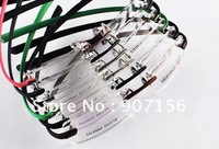 Free Shipping: 2012  Hingeless Rimless eyewear , Eyeglasses Frame Silver/ black bridge with black /pink/ green/ coffee leg