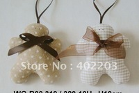 christmas decoration-christmas ornament-christmas cookie hange-4designs-24pcs/lot-free shipment