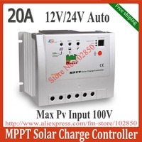 Free Shipping 20A  Tracer 2210 MPPT solar charge controller,12/24V DC auto work,100V DC max pv input volotage