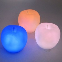 5X Apple Shape Colors Changing Cute Lamp Colorful LED Lamp Decoration Night Light K0014