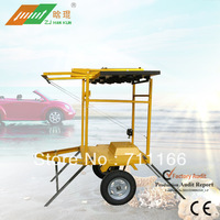 Solar portable arrow board trailer meet the standards of Manual On Uniform Traffic  Control Devices