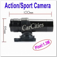 NEW Action Camera,motorcycle/bike/rock climbing/sport camera,1.3M CMOS sensor,size:10*5.5cm,Resolution 640*480,free shipping
