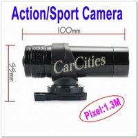 NEW Action Camera,motorcycle/bike/rock climbing/sport camera,1.3M CMOS sensor,size:10*5.5cm,Resolution 640*480,free shipping