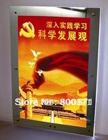 "Acrylic Magic Mirror led lightbox/panel 11""x15"",free shipping Magic advertising light box"