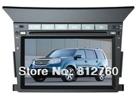 Special car dvd player for Honda Pilot (2009-2012) built in GPS Navigation,Bluetooth,Ipod,TV,V-CDC,3G USB host,Free shipping+map