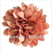 HOT!Free shipping 7 colors ,Flower hairpin,Flower Hat Hair Clip Brooch ,Cloth large flowers,Brooch hairpin dual-use accessories