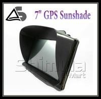 7 inch GPS universal sunshade sunshine shield for 7 inch car GPS navigator