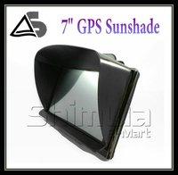 7 inch GPS universal sunshade sunshine shield for 7 inch car GPS navigator