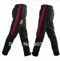 Free Shipping Spain professional football tight leg training trousers sport long pants Fashion soccer casual pant men's trousers