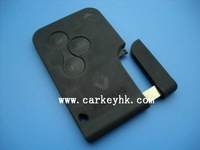 Hot sale Renault Megane 3 buttons smart card shell