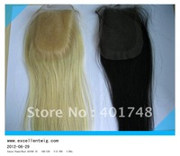 100% top quality Indian remy hair Lace closure