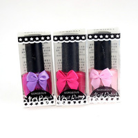 Hot Sale Nail Art Supplies 6pcs/lot 110 color optional Sweet Color Nail Polish Nail Lacquer Nail Art Polish