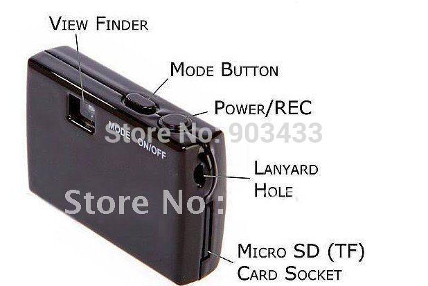 free shipping Worlds Smallest HD Digital Video Camera Mini DV(China (Mainland))