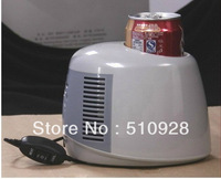DC 5V usb CAR Small Auto Personal Mini Fridge Food Warmer Car Cooler 0.5-Liter PORTABLE TRAVEL COOLER New
