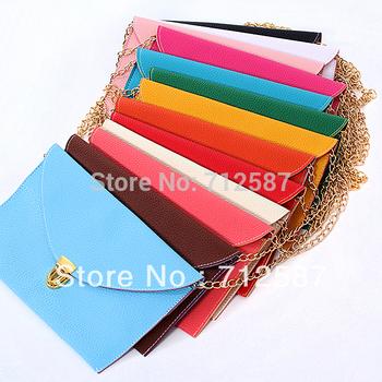 Womens Envelope Clutch Chain Purse Lady Handbag Messenger Tote Shoulder Hand Bag~ free shipping