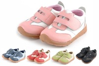 infant sneakers baby girls and boys leather shoes velcro strap tennis shoes new arrival retail wholesale free shipping