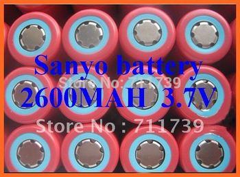 1pc Genuine SANYO 18650 UR18650FM N35A Li-ion 2600mAh 3.7v Battery