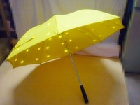 2013 new type LED umbrella with luminous creative flashlight  Stars shine  Umbrella light  Double-deck