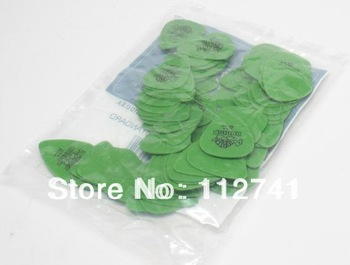 Wholesale -NEW 72 piece Guitar Picks  Standard .88 Green Guitar Pick from china free shipping
