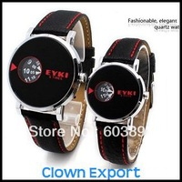 Free shipping   E13796CL   Quartz Wrist Watch for lovers,10 meters waterproofing watch
