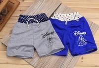 2014 Children's clothing wholesale fashion Korean shorts Children's pants Pluto dog  Free Shipping