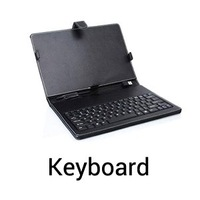 8 Inch Leather Case Keyboard USB or Micro Usb For Tablet PC Android MID