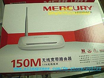 Free Shipping MERCURY MW150R WiFi 802.11b/g/n 150M 4 LAN port Wireless LAN Broadband Router  Retail packaging