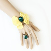 free shipping wholesale jewelry lace bracelet fashion bracelet with ring cheap bracelet cheap ring party jewelry