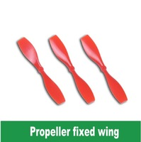 Free Shipping Red Plastic propeller/model aircraft propeller/helicopter tail Aperture 1mm length 75mm