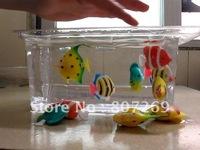 50pcs Plastic Artificial Fish Ornament decoration for Aquarium Fish Tank