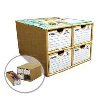 U-STAR Storage Box UA-90077, Cardboard Paint Bottle Storage Box, Special Design for Paint Bottle Storage