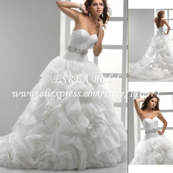 Свадебное платье ESREA BR539 Ruched