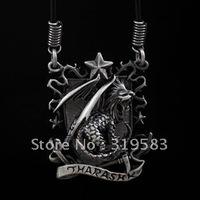 Necklace pendant Amulet D&D Punk Dungeons & Dragons House Tharashk badge 0211