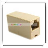 Free Shipping,CAT5 RJ45 Network Cable Splitter Extender Plug Coupler Plug,Computer Accessories 10 pcs/lot ,C0024