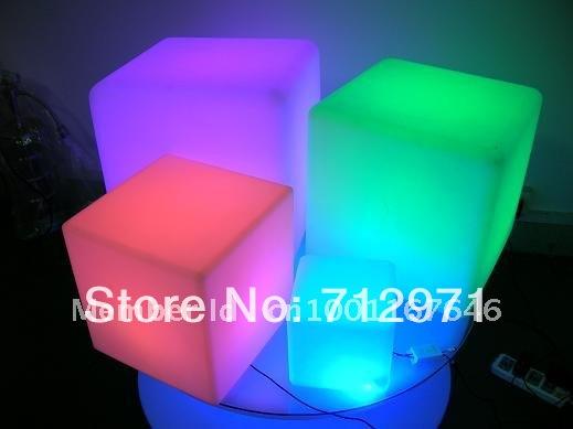 LED garden cube chair / Christmas decorative cube desk lamp(China (Mainland))