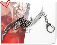 Cool Charm Bleach Pendant, Kurosaki Ichigo Anime Sword Keychain  in box Preciouse
