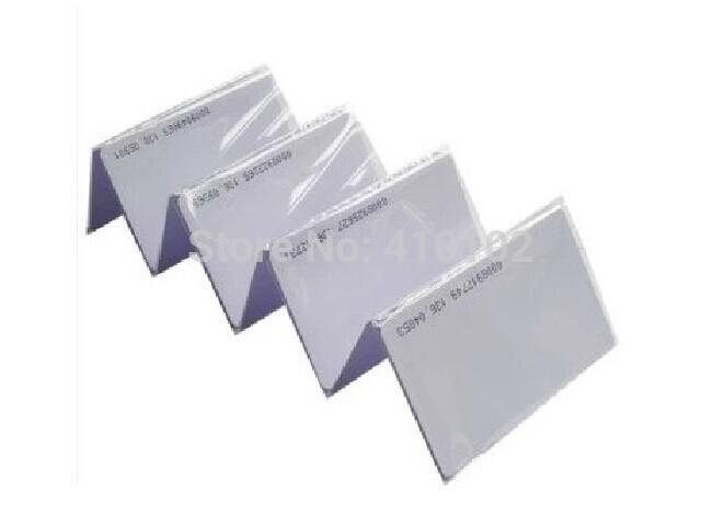 EM thin card, PVC Smart Card +free shipping