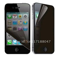 Privacy Anti-Spy Screen Guard Protector Shield Film For Apple  for iPhone 4 4S 4G NEW