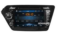 "car DVD player for KIA K2 RIO 8"" in dash 2din head unit gps navigation  Steering wheel control subwoof USB bluetooth"