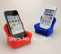 Free shipping Wholesale - High Quality Soft PlusH PU foam material 20pcs/lot CHAIR PHONE HOLDER