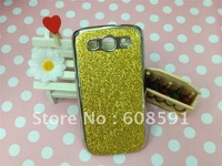 Newest High Quality Luxury Chrome Bling Glitter Hard Case for Samsung Galaxy S3 S III I9300 ,50pcs/lot DHL free shipping