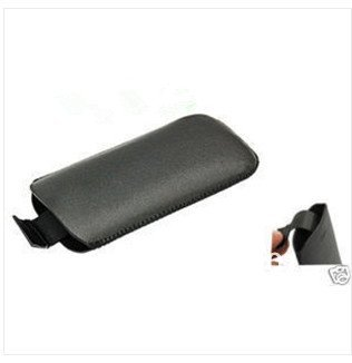 10pcs/lot  New Black Faux Leather Case For Nokia 6300 6700  E51  Free shipping