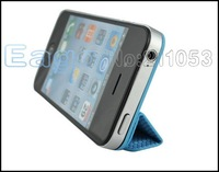 Guoer Funny Magnet Plastic Stand Smart Cover Case for iPhone 4 4S Multi Purpose Magnetic-iron Cases