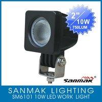 "One pair 2"" 10Watt LED Flood Lamp Cree LED ATV Light 12V 24V Both SM6101"