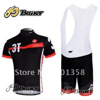 2011 3T FACTORY RACING cycling gear castelli cycling apparel bicycle shorts bib accept customized model